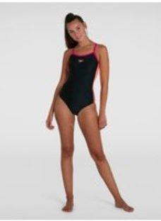 Women's Dive Thinstrap Muscleback Swimsuit Black - 42